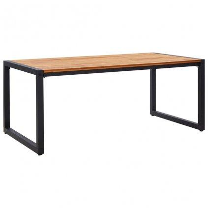 Zahradní stůl Theba s nohami ve tvaru U - masivní akácie   180x90x75 cm
