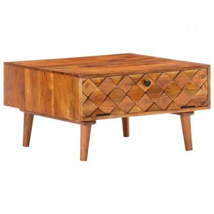 Konferenční stolek Republic - masivní akciové dřevo | 68x68x38 cm