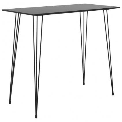 Barový stůl Rios - 120x60x96 cm   černý