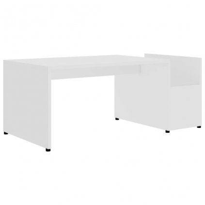 Konferenční stolek Drawin - bílý | 90x45x35 cm