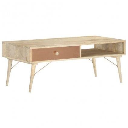 Konferenční stolek Oppong - masivní mangovníkové dřevo | 118x57x45