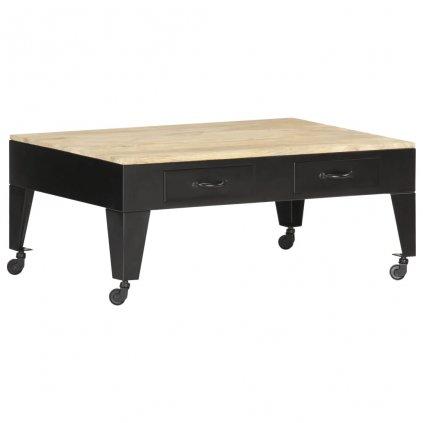 Konferenční stolek Artan - masivní mangovníkové dřevo   100x60x40 cm