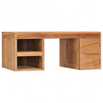 Konferenční stolek Anwar - masivní teakové dřevo | 90x50x40 cm