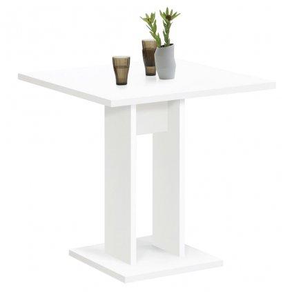 Jídelní stůl Dollores - 70 cm | bílý