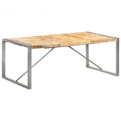 Jídelní stůl Penrite - hrubé mangovníkové dřevo | 200x100x75 cm