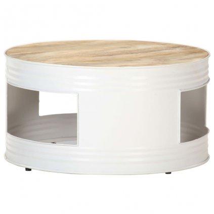 Konferenční stolek Dacre - bílý | 68x68x36 cm