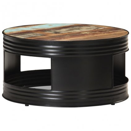 Konferenční stolek Dacre - černý   68x68x36 cm