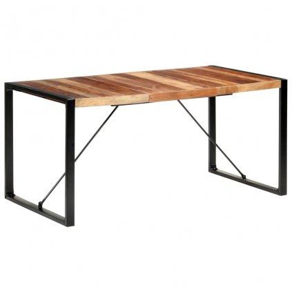 Jídelní stůl Gessler - masivní dřevo | 160x80x75 cm