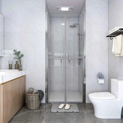 Sprchové dveře - čiré - ESG | 76x190 cm