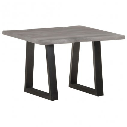 Konferenční stolek s živou hranou - masivní akácie | 60x60x40 cm