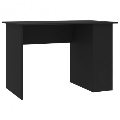 Psací stůl Lyndoch - dřevotříska - černý | 110x60x73 cm