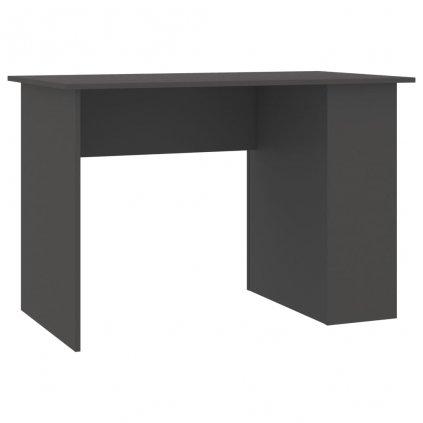Psací stůl Lyndoch - dřevotříska - šedý | 110x60x73 cm
