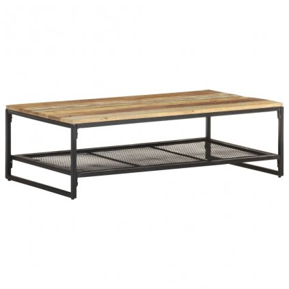 Konferenční stolek Hamden - masivní recyklované dřevo | 110 x 60 x 35 cm
