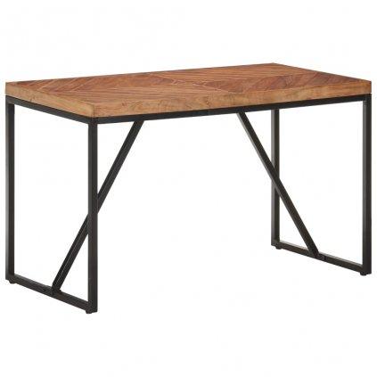 Jídelní stůl Portolls - masivní akácie a mangovník | 120 x 60 x 76 cm