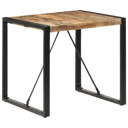 Jídelní stůl Tiburoon - 80x80x75 cm   masivní mangovníkové dřevo