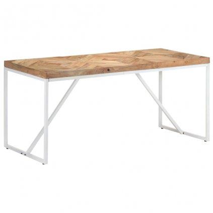 Jídelní stůl Portolls - 160x70x76 cm | masivní akácie a mangovník