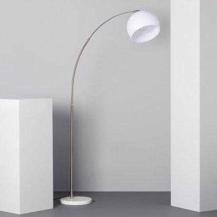 gebogen floor lamp