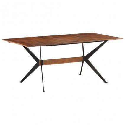 Jídelní stůl Gazania - masivní mangovníkové dřevo | 180 x 90 x 76 cm