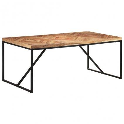 Jídelní stůl Portolls - 180x90x76 cm | masivní akácie a mangovník