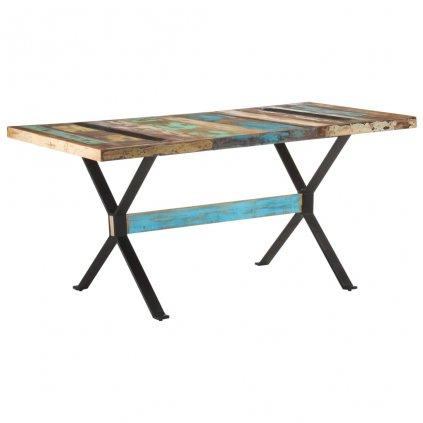 Jídelní stůl Islais - 160x80x76 cm | masivní recyklované dřevo