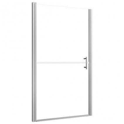 Sprchové dveře - 81x195 cm   matné tvrzené sklo