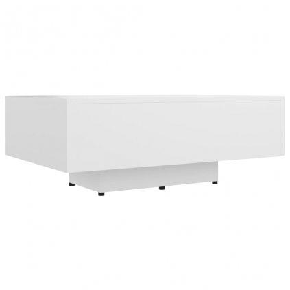 Konferenční stolek Corrse - dřevotříska - 85x55x31 cm | bílý