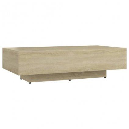 Konferenční stolek Tillie - dřevotříska - 115x60x31 cm   dub sonoma