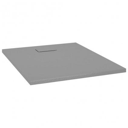 Sprchová vanička - SMC - 100x80 cm | šedá