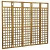 5dílný paraván/treláž - masivní akáciové dřevo   200x170 cm
