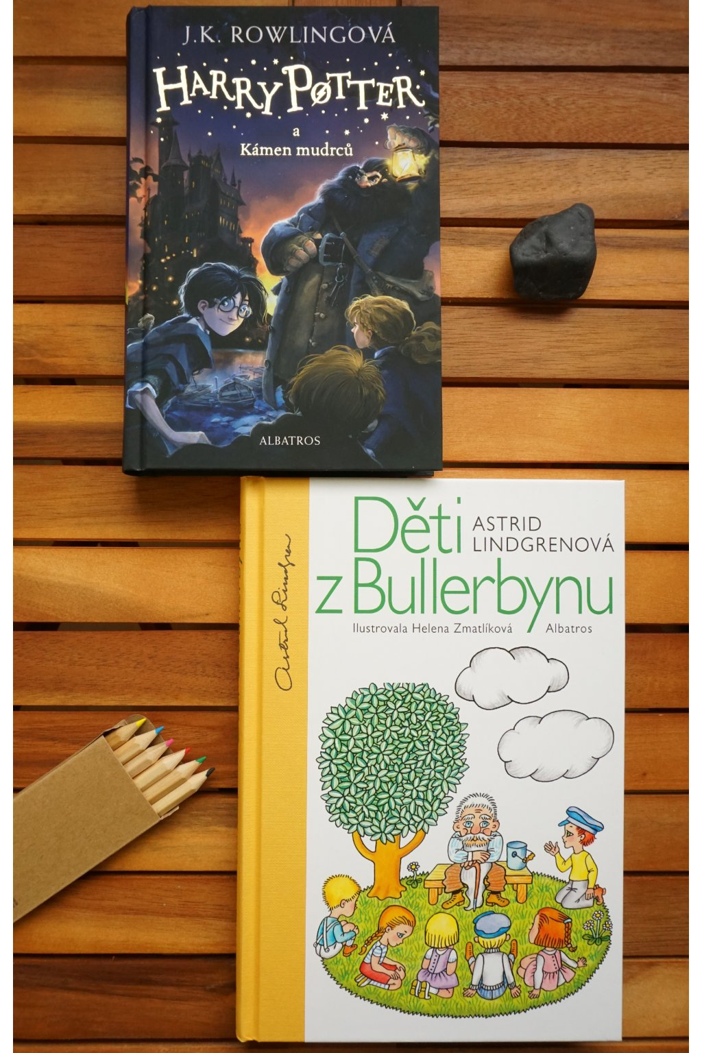 Literární klasika dětem pod stromeček