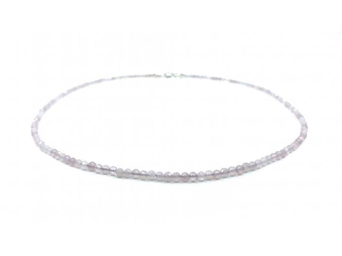 Růženínový náhrdelník drobný
