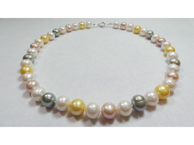 Luxusní osvěžující perlový náhrdelník