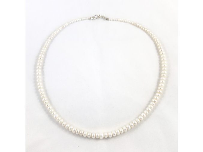 Perlový náhrdelník tvar kukuřice