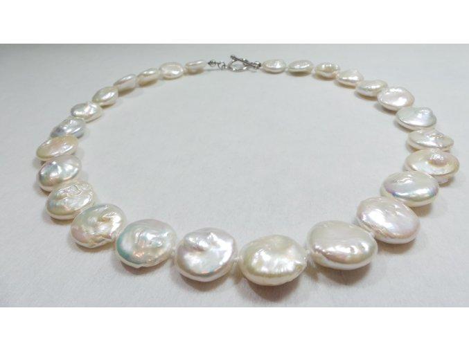 Luxusní perlový náhrdelník