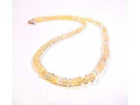 Náhrdelník drahý etiopský opál