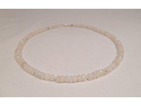 Měsíční kámen náhrdelník