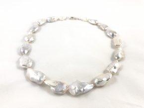 Náhrdelník bílé reborn perly