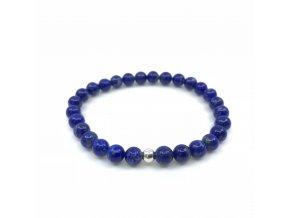 Náramek lapis lazuli kuličky