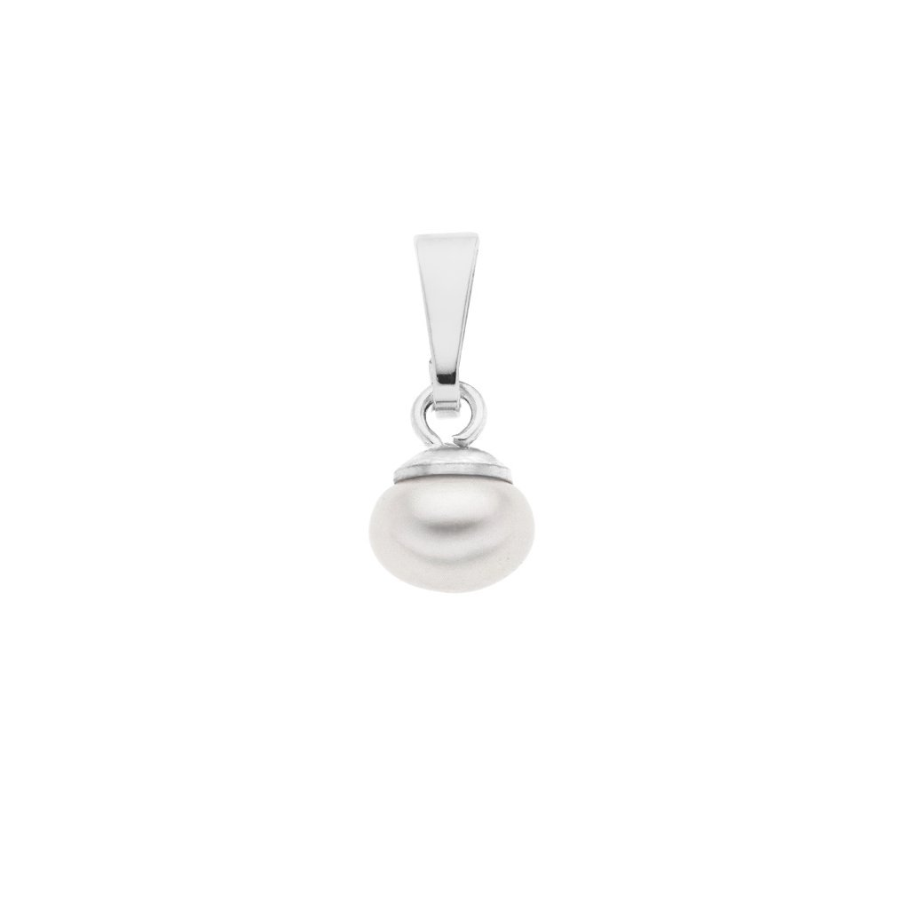 Přívěsek LENA perla AA bílá LE852, Perlomanie
