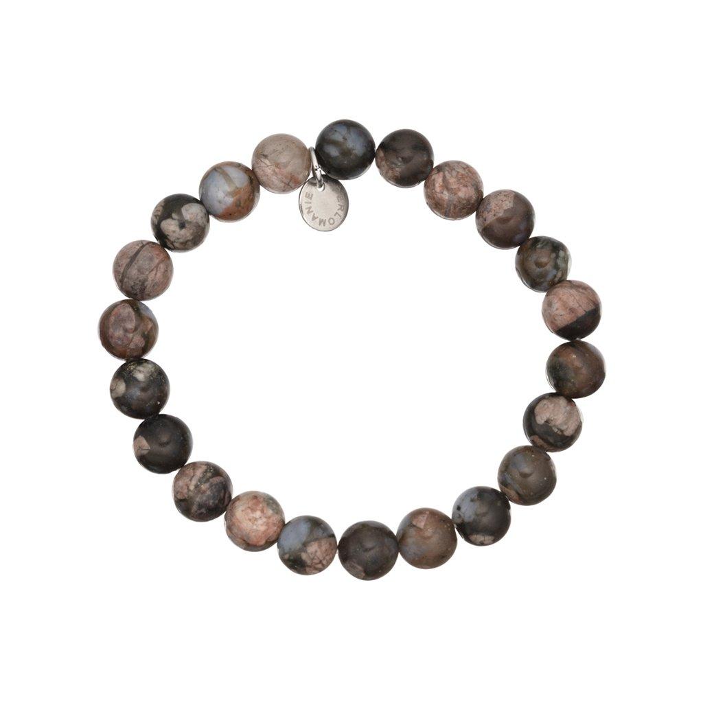 naramek z mineralnich kamenu africky modry opal MN12053 Perlomanie