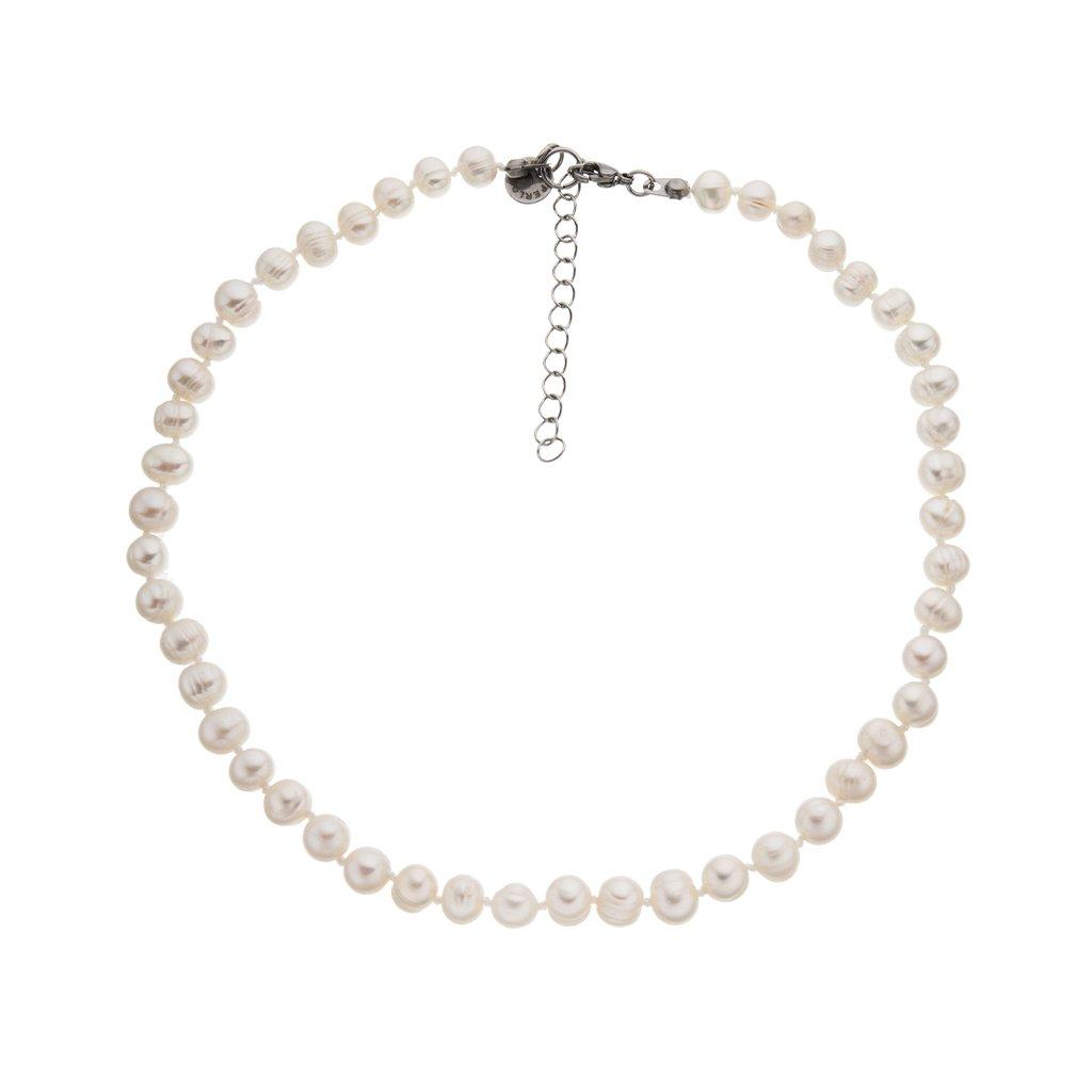 Náhrdelník perly bílé BE128, délka 40 - 45 cm