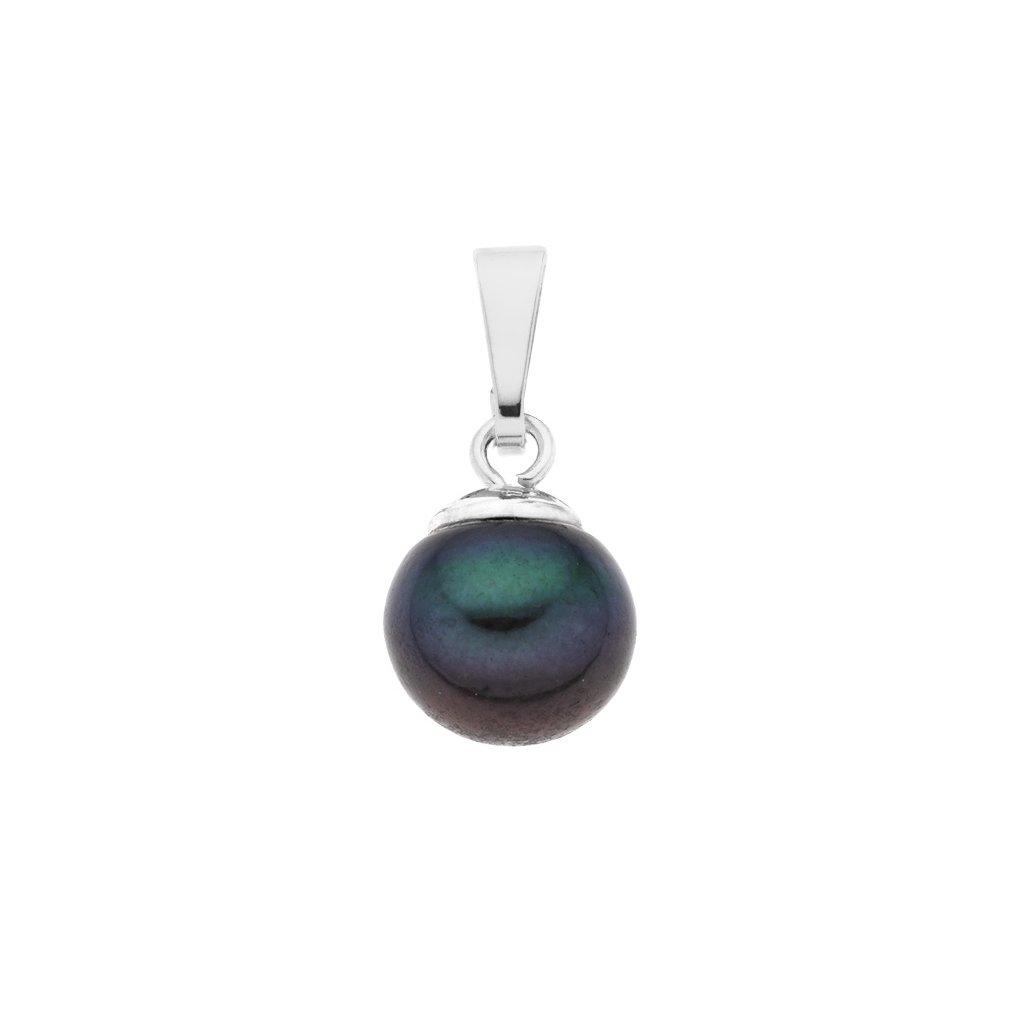 Přívěsek perla AA tmavá LE861, Perlomanie