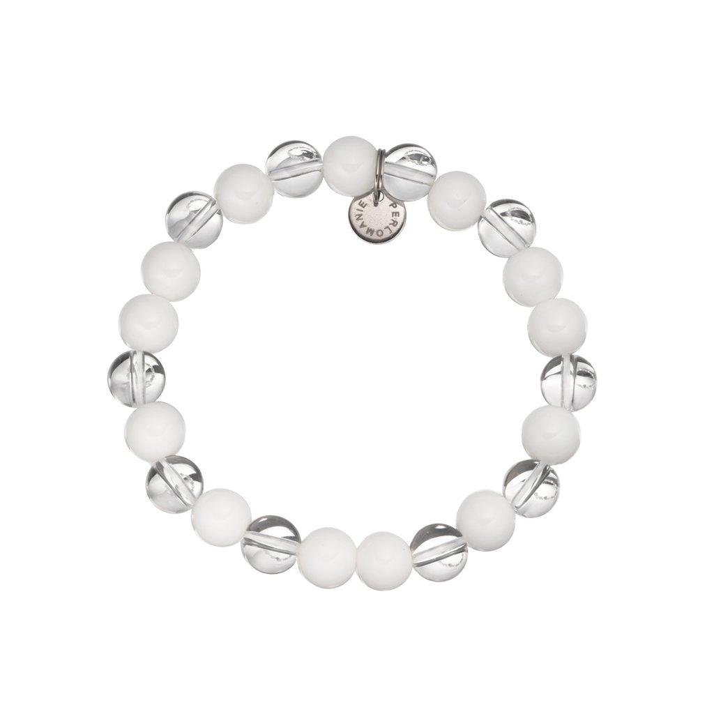 naramek z mineralu perlet a kristal MN12019, Perlomanie