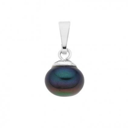 Přívěsek perla AA tmavá LE860, Perlomanie
