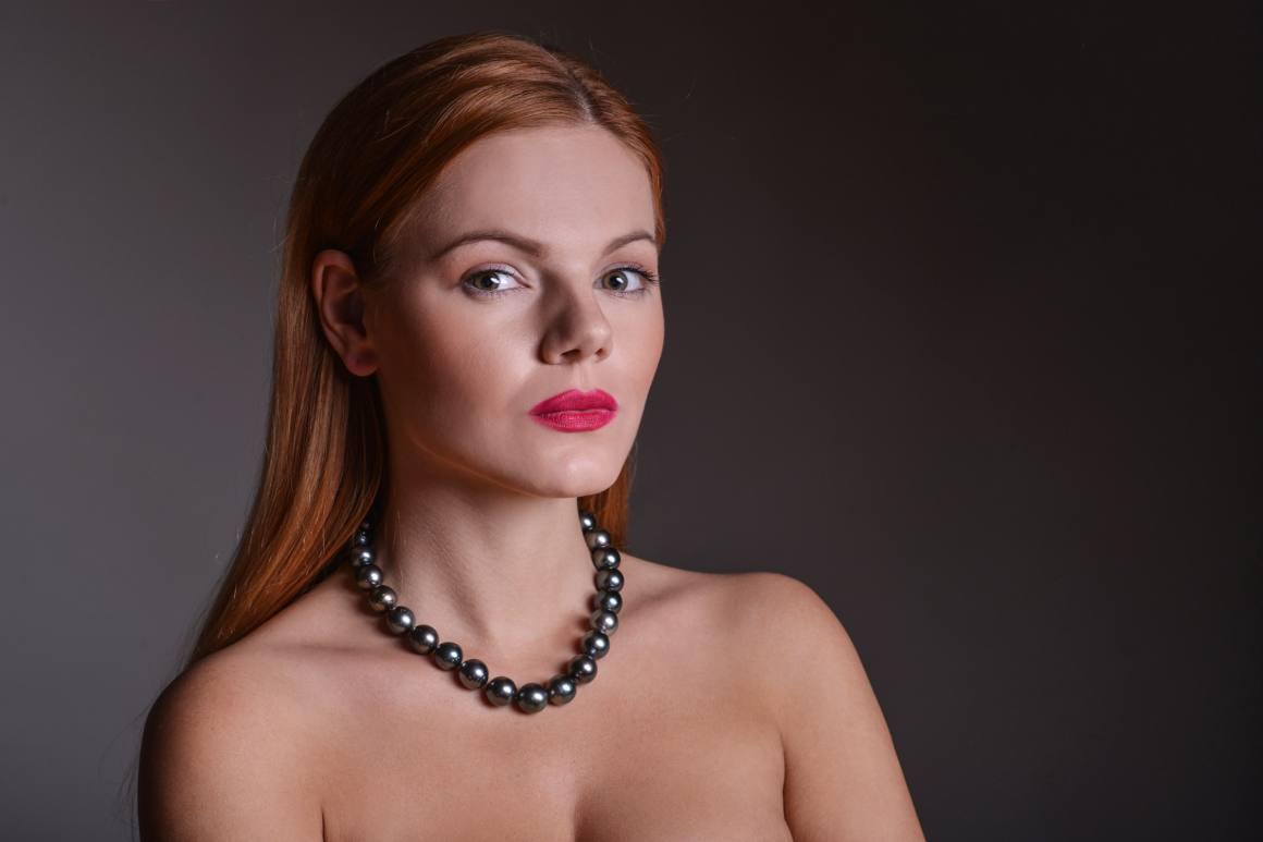 tahitský náhrdelník