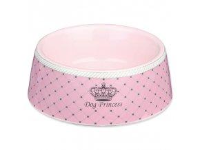 Miska TRIXIE Princess keramická růžová