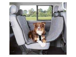 Autopotah na zadní sedadla flís/polyester 1,45x1,60m
