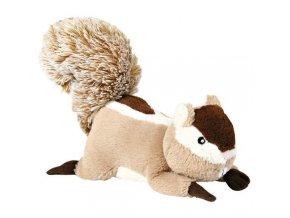 Plyšová veverka se zvukem 24 cm