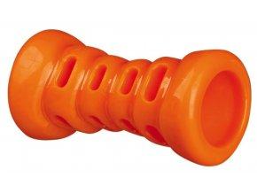 Soft Strong kost TPR termoplastová guma 13 cm, oranžová