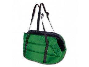 Přepravní taška pro psy z polyesteru Migra II zelená